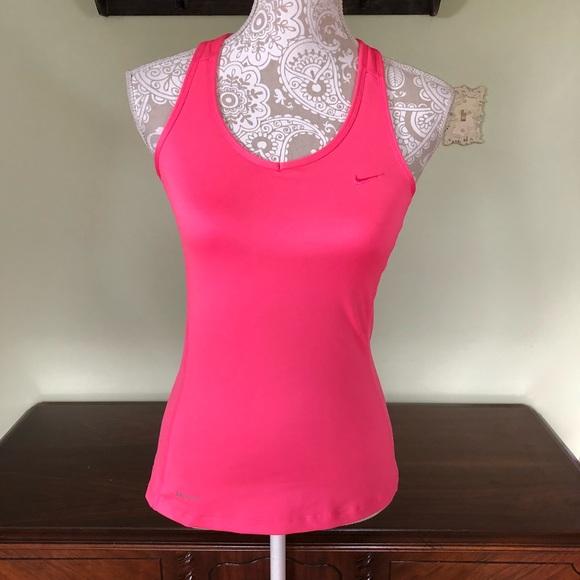 b033f94176 Nike dri fit hot pink racerback tank top. M 5b60e5cf4cdc3005cd654336